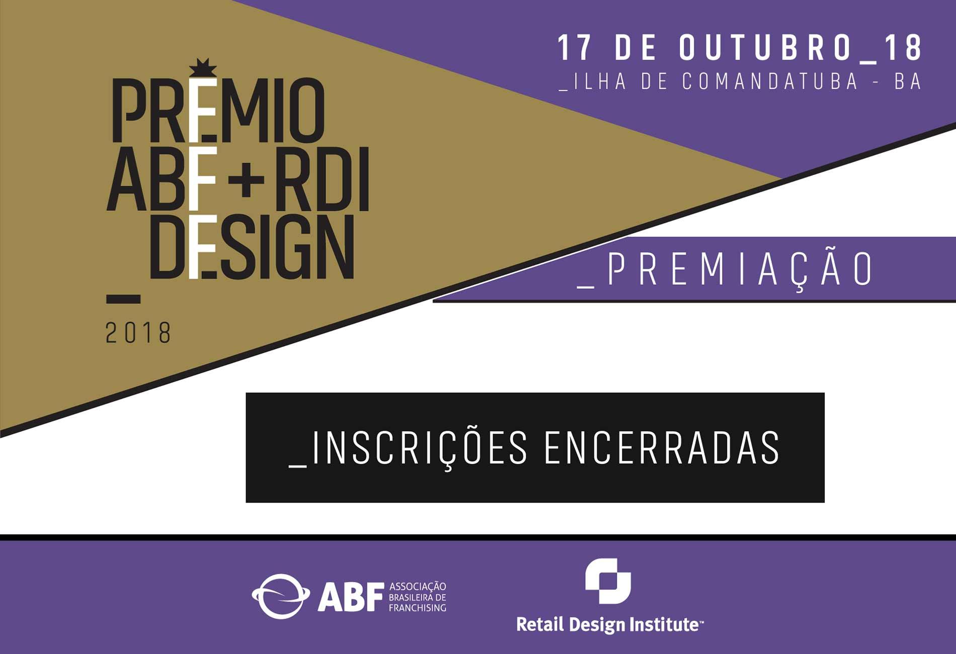 Prêmio ABF + RDI Design